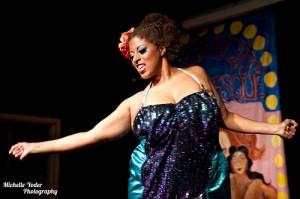 Famous burlesque performer reveals all