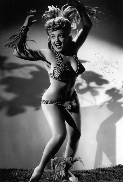 Jennie Lee: Featured Legend of Red Hots Burlesque