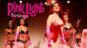 Jo Boobs of New York School of Burlesque teaches her Pink Light students.